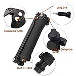 YANTRALAY SCHOOL OF GADGETS 3-Way Monopod Grip Arm Tripod Foldable Selfie Stick, Stabilizer Mount Holder for GoPro Hero 7/6/5, SJCAM SJ6, SJ7, SJ5000, Yi and All Action Cameras (Black) 6