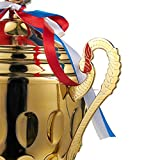 Juvale Large Big Gold Trophy Cup - 16.6 Inches