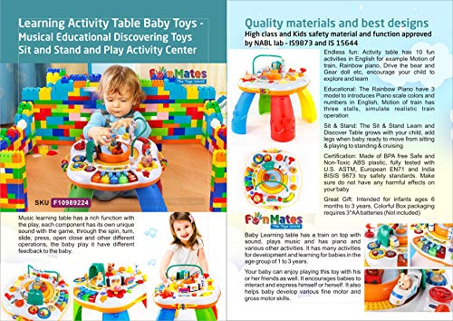 f4a20e858daa Buy Learning Activity Table Baby Toys - Sit and Stand and Play ...