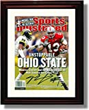 "Framed Ohio State 2002 ""Unstoppable Ohio State"" Sports Illustrated Maurice Clarette Autograph Replica Print"