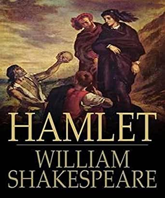 Hamlet By William Shakespeare Book Cover Hamlet (Illustrated) -...