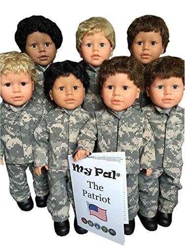 My Pal 18 inch boy doll - My Pal the Patriot blonde blue eyes