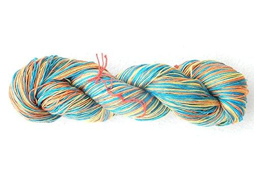 Silkindan Maharaja Silk Yarn 100 Grams Multi Colored