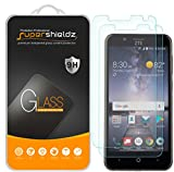 (2 Pack) Supershieldz for ZTE Blade Vantage Tempered Glass Screen Protector, Anti Scratch, Bubble Free
