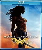 DVD : Mujer Maravilla (Wonder Woman) Blu-ray 3D + Blu-ray + DVD + Digital Copy (English, Spanish & Portuguese Audio & Subtitles)