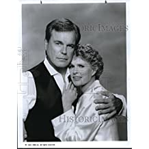 1991 Press Photo Robert Wagner And Sharon Gless In The Trials Of Rosie O'Neill