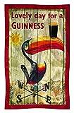 Guinness Toucan Cotton Tea Towel