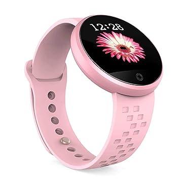 Multifuncional Reloj Redondo Inteligente,Pulsera de Fitness ...