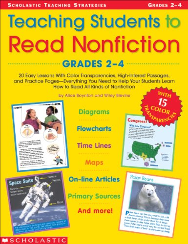 Teaching Students To Read Nonfiction: Grades 2-4 (Teaching Strategies) ()