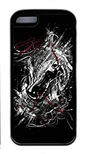 Soft TPU iphone 5C case with Abstract Painting Illustrations by Nicebleed Custom TPU Back Case for iphone 5C