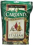 Cardini's Gourmet Cut Croutons, Italian, 5-Ounce Bags (Pack of 12)