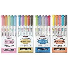 Zebra Mildliner highlighter pen set, 20 Pastel Color set