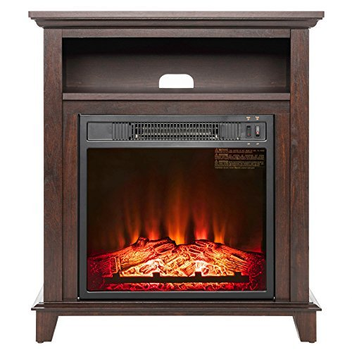 Freestanding 400 Square Foot Electric Fireplace Stove