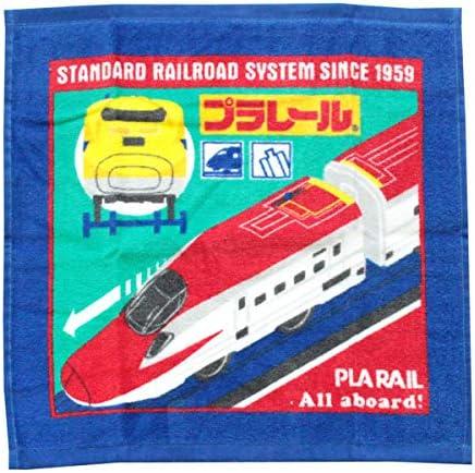 プラレール ハンドタオル ベクター WJ425200 新幹線 ウォッシュタオル キャラクター グッズ 林 タオル かっこいい