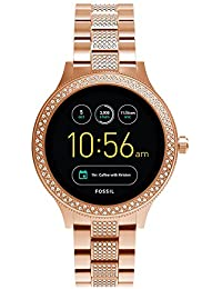 Gen 3 Smartwatch - Q Venture Rose Gold-Tone Stainless Steel FTW6008