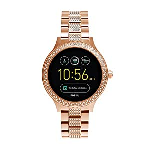 Fossil Q Venture Rose Gold Stainless Steel Smartwatch FTW6008