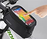 FOXNOV Roswheel 2014 New Updated Bike Frame Bag Top Tube Bag Bicycle Cell Phone Holder for iPhone Android and Smartphone