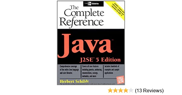 The Complete Reference Java 2 By Herbert Schildt Pdf