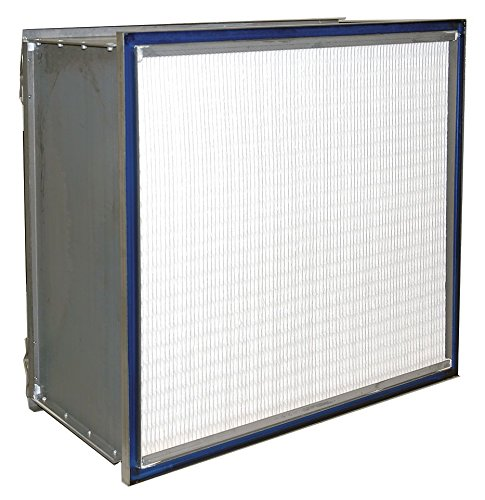 Air Handler 6B614 HEPA Hospital grade Microfiber Air Filter 24x24x11.5 by Air Handler