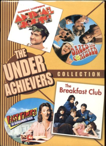 The Underachievers Collection 4 DVD Widescreen Set - National Lampoon's Animal House, Dazed and Confused, Fast Times at Ridgemont High & The Breakfast Club
