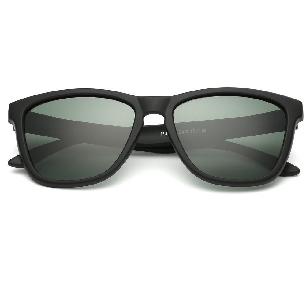 EliBella coloridas polarizadas para los mujeres y hombres UV400 gafas de sol de protección EL0717