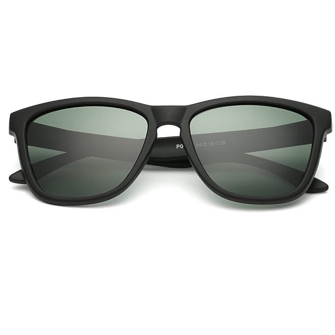 EliBella coloridas polarizadas para los mujeres y hombres UV400 gafas de sol de protección EL0717 (