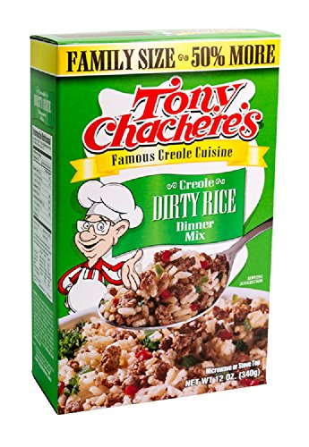 Tony Chachere's Creole Dirty Rice Dinner Mix, Family Size 12 Ounces