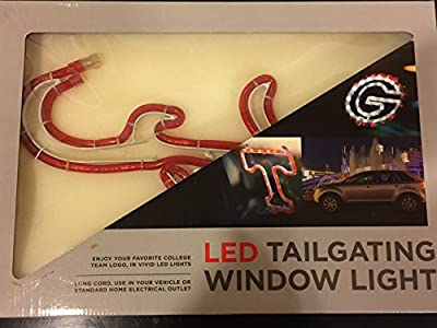 Alabama Football Tailgating Window Bar PUB Light LED Roll Tide BAMA Crimson Tide