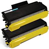 2-Pack Compatible with Brother TN-650 Black Toner Cartridges for use with Brother MFC 8480DN 8680DN 8890DW HL 5340D 5370DW 5370DWT DCP 8080DN 8085DN Printer