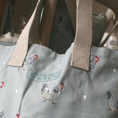 Sophie Allport borsa a tracolla–Chicken design