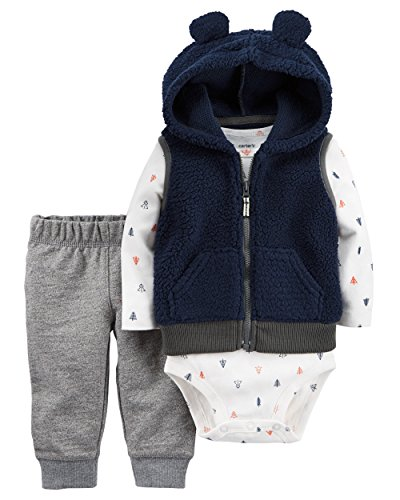 Carters Baby Boys Vest Sets