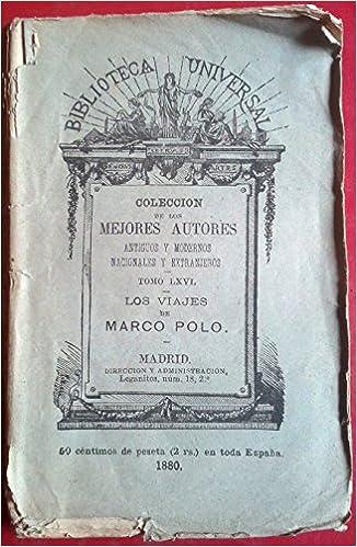 LOS VIAJES DE MARCO POLO.: Amazon.es: Marco Polo.: Libros