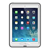 LifeProof NÜÜD iPad Air (1st generation only) Waterproof Case - Retail Packaging - WHITE/GREY