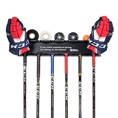 Better Hockey Extreme Stick Rack - Get Your Sticks Off The Floor and Organized ()