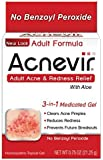 Acnevir Adult Acne & Redness Relief Gel, 0.75 Ounce by Acnevir