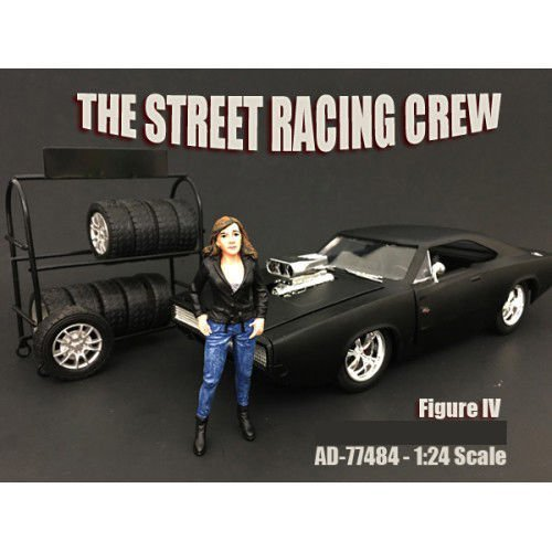 American Diorama Wholesale The Street Racing Crew Figure for sale  Delivered anywhere in USA