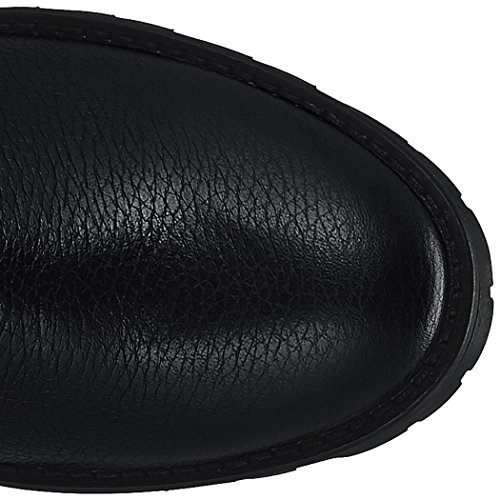 HUGO Adel 10202331 01, Botas Para Mujer Negro (Black)
