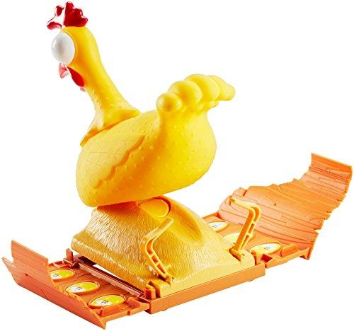 Mattel Games FRL48 - Gack Gack lustiges Hühnerspiel und Kinderspiel geeignet für 2 - 4 Spieler, Kinderspiele ab 5 Jahren 5
