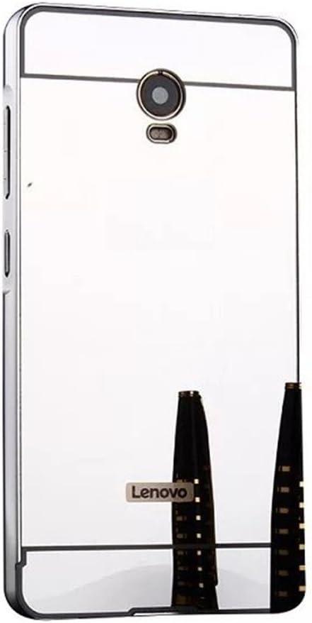 HUANGTAOLI Frame Aluminio Bumper con Efecto Espejo Protege Funda ...