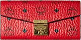 MCM Women's Patricia Wallet on a Chain, Red, One Size