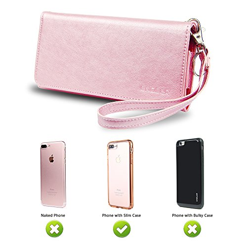 Smartphone Wallet, ENDLER Clutch Purse[Crossbody