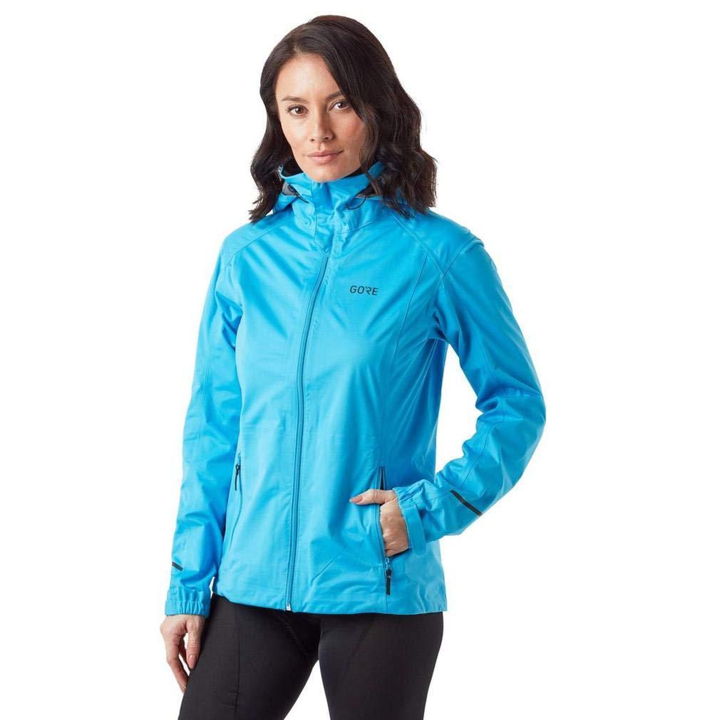 GORE Wear R3 Ladies Hooded Jacket GORE-TEX Active, M, Blue