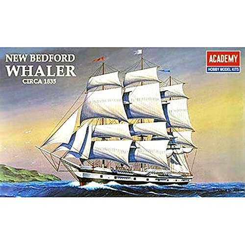 Morgan Model Ship (Academy ships model 14204 US 1 in 200 American Charles Morgan whaling sailboat by Academy)