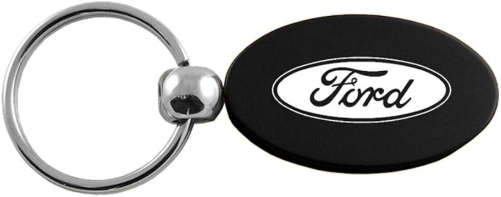 INC Oval Key Fob for Ford Black DS-KC1340.for.BLK-1 Au-Tomotive Gold
