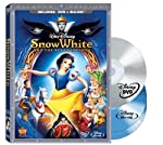 Cover Image for 'Snow White and the Seven Dwarfs (DVD/Two-Disc Blu-ray + BD Live w/DVD packaging)'