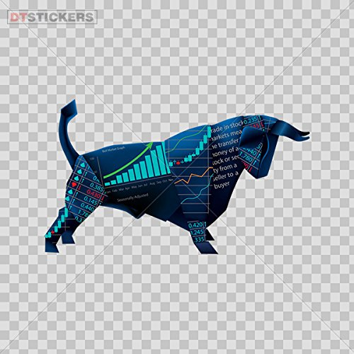 - Hobby Vinyl Decal Wall Street Bull Stock Exchange Hobby Decor D217 2RWCA