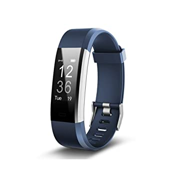 FONCBIEN Reloj conectable de pulsera para mujer y hombre con bluetooth - Reloj de deporte, smartwatch, con podómetro y pulsómetro: Amazon.es: Deportes y ...