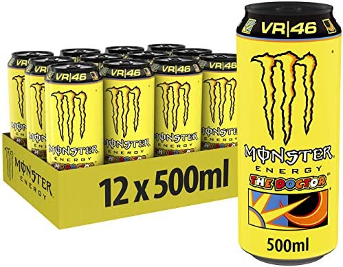 Monster The Doctor 12 x 500ml: Amazon.es: Alimentación y bebidas