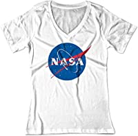 BSW Women's Nasa Space Astronomy V-Neck