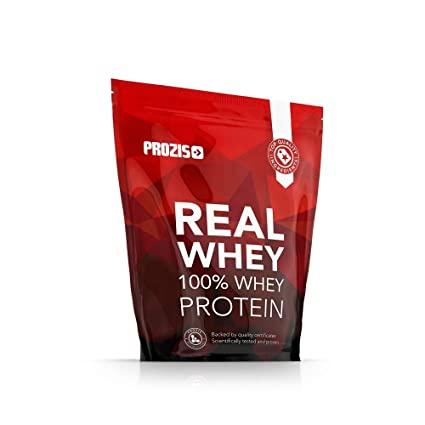 Prozis Real Whey, Chocolate y Avellanas - 400 gr